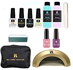 Red Carpet Manicure Cinderella 5 Color LED Gel Nail Polish