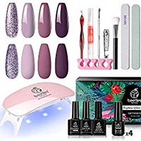 Sexy Mix Gel Polish Starter Kit UV Led Gel Nail Manicure Kit